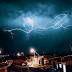 Fotógrafo e estudante de Comunicação registra raios nos céus de Jaguarari