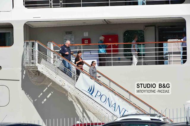 Η γαλλική εταιρεία Ponant εντάσσει το Ναύπλιο στο πρόγραμμά της για το 2018