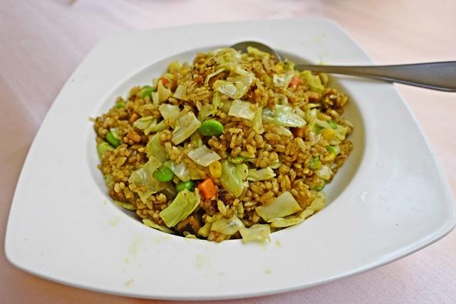 觀世音素菜餐廳咖哩炒飯