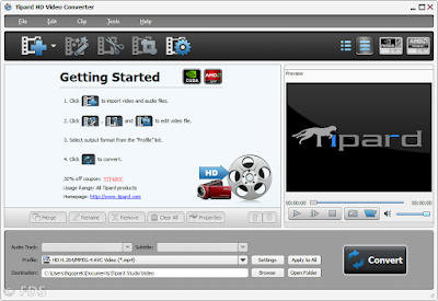 Tipard HD Video Converter main