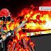 Jannah Dirundung Malang, Rumahnya Ludes Terbakar