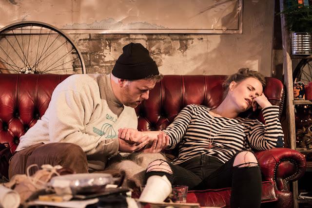 Puccini: La Boheme - Matthew Kimble, Lizzie Holmes - Trafalgar Studios (Photo Scott Rylander)