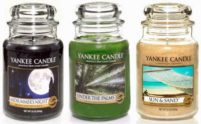 Yankee Candle Scents of the Month