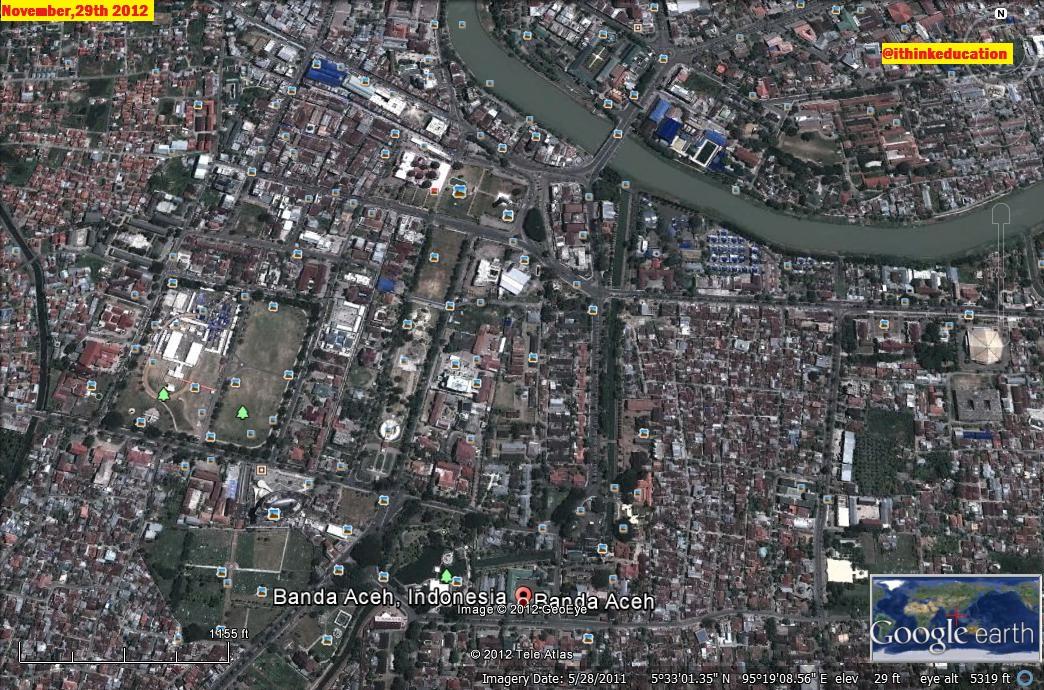 Contoh Makalah Hasil Peta Pencitraan dari Google Earth