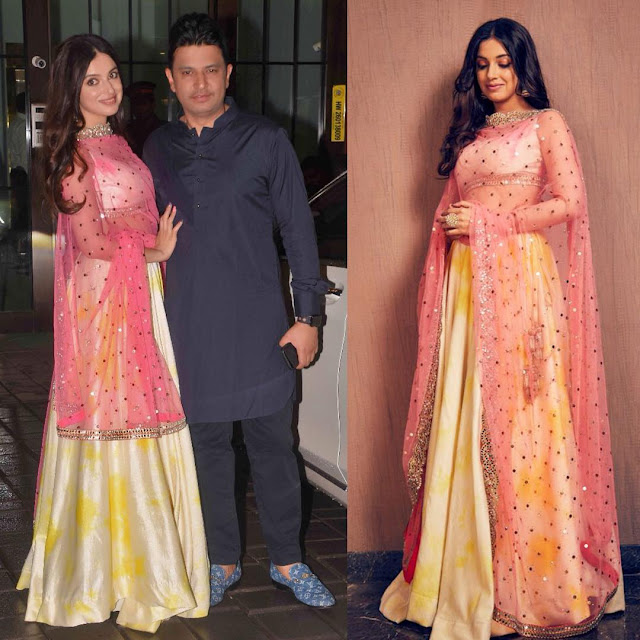Bhushan Kumar With Wife Divya