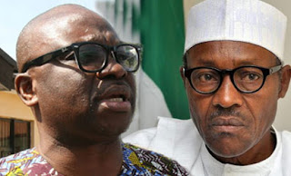 Ekiti State Governor described President Muhammadu Buhari as Nigeria's main problem.