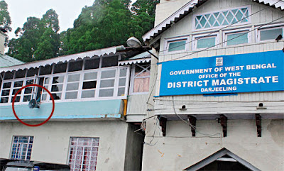 District magistrate's office in Darjeeling