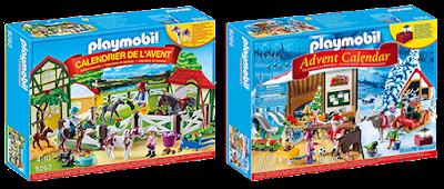 Les Calendriers de l'Avent Playmobil