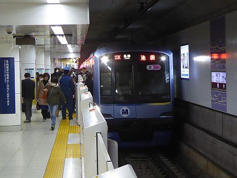 東京メトロ副都心線 各停 池袋行き6 Y500系(平日のみ運行)