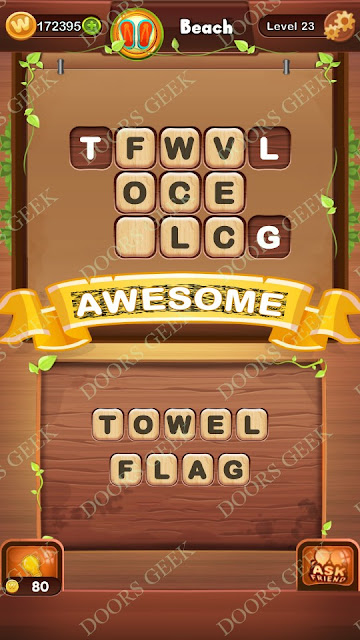 Word Bright Level 23 Answers, Cheats, Solutions, Walkthrough for android, iphone, ipad and ipod