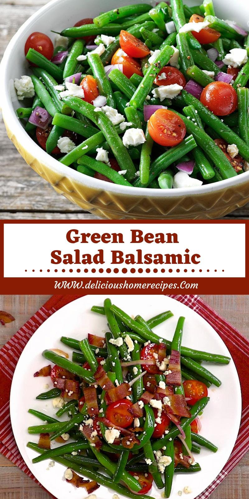 Green Bean Salad Balsamic