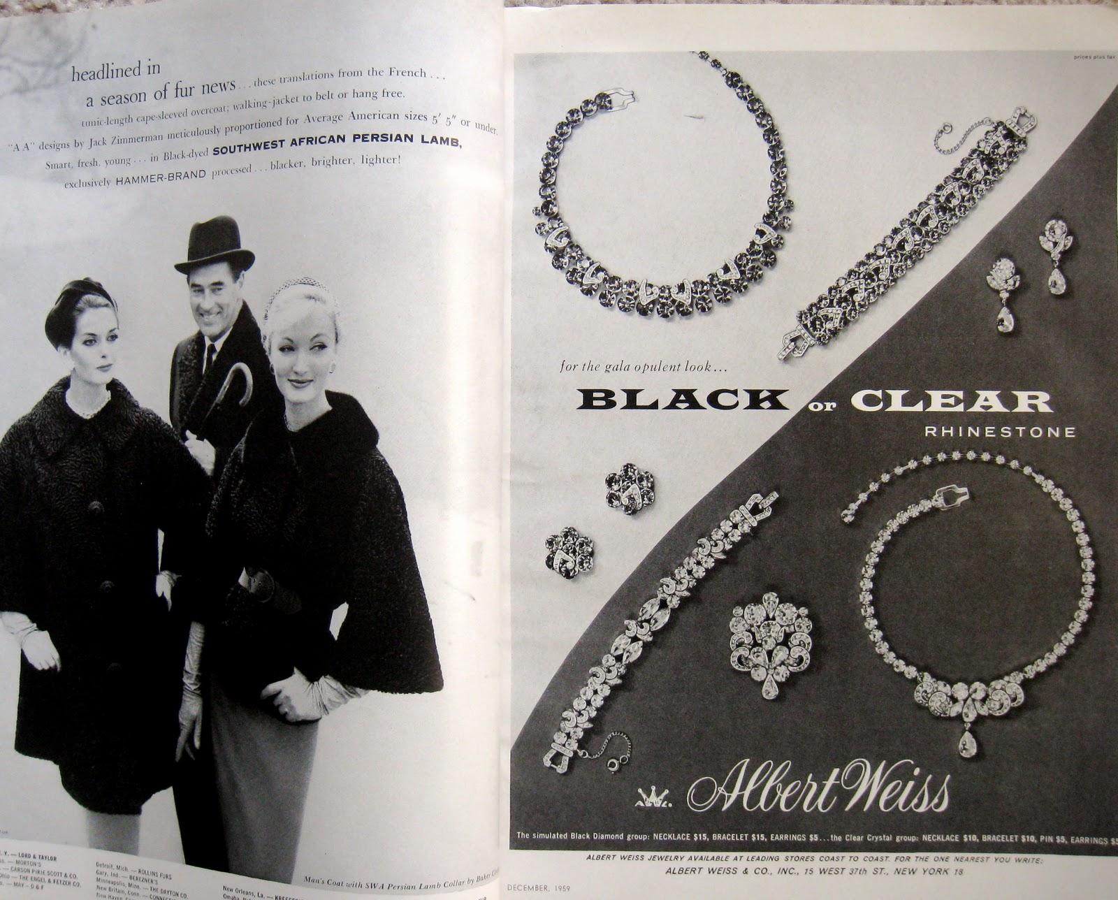 Reading Vintage Vogues An Accidental Education Black Diamonds