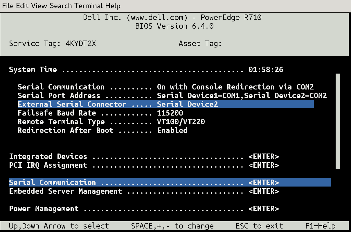 l think, therefore l am: DELL R710 iDRAC6 setup with ssh console
