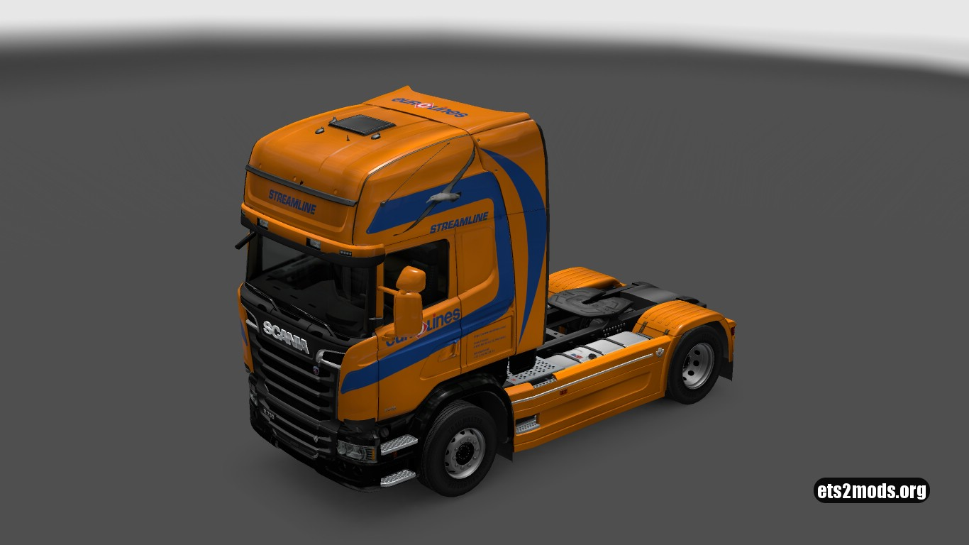 Eurolines Skin for Scania Streamline