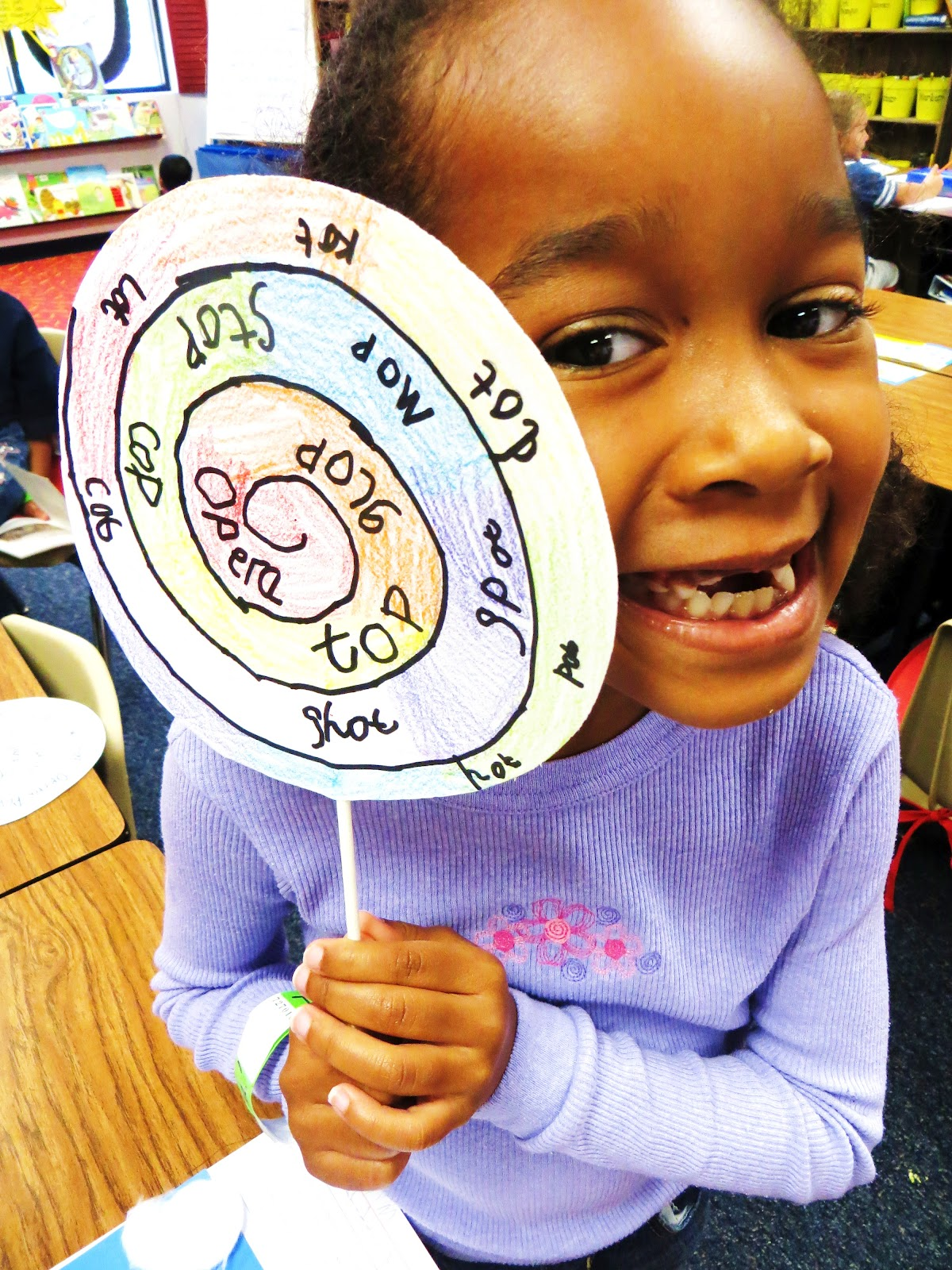First Grade Wow Lollipops And Dots Short O Rocks