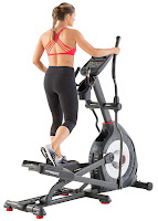"2017 Schwinn 470 Elliptical Machine MY17, with Bluetooth connectivity, 29 programs, 25 ECB resistance levels, 10 degree incline, 20"" stride length, large cushioned articulating footplates"