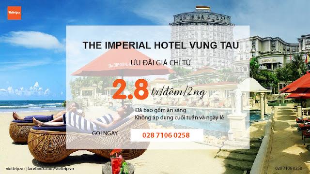 Khuyến mãi khách sạn Imperial Vũng Tàu