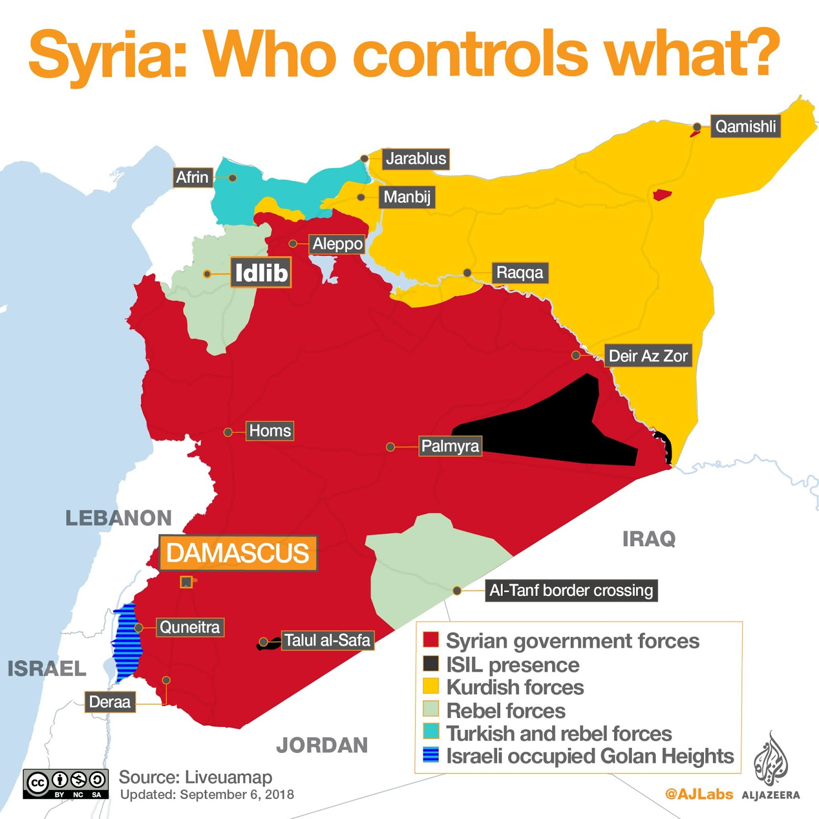 updated map of syrian situation the extent of isil territory may be overstated here