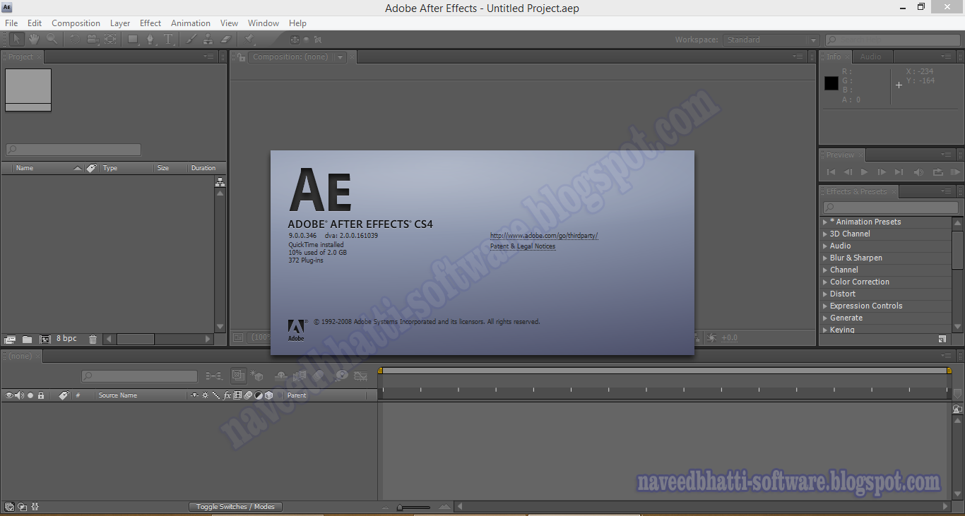 Adobe After Effects CS4 Free Download - getintopc.com