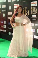 Prajna Actress in backless Cream Choli and transparent saree at IIFA Utsavam Awards 2017 0137.JPG