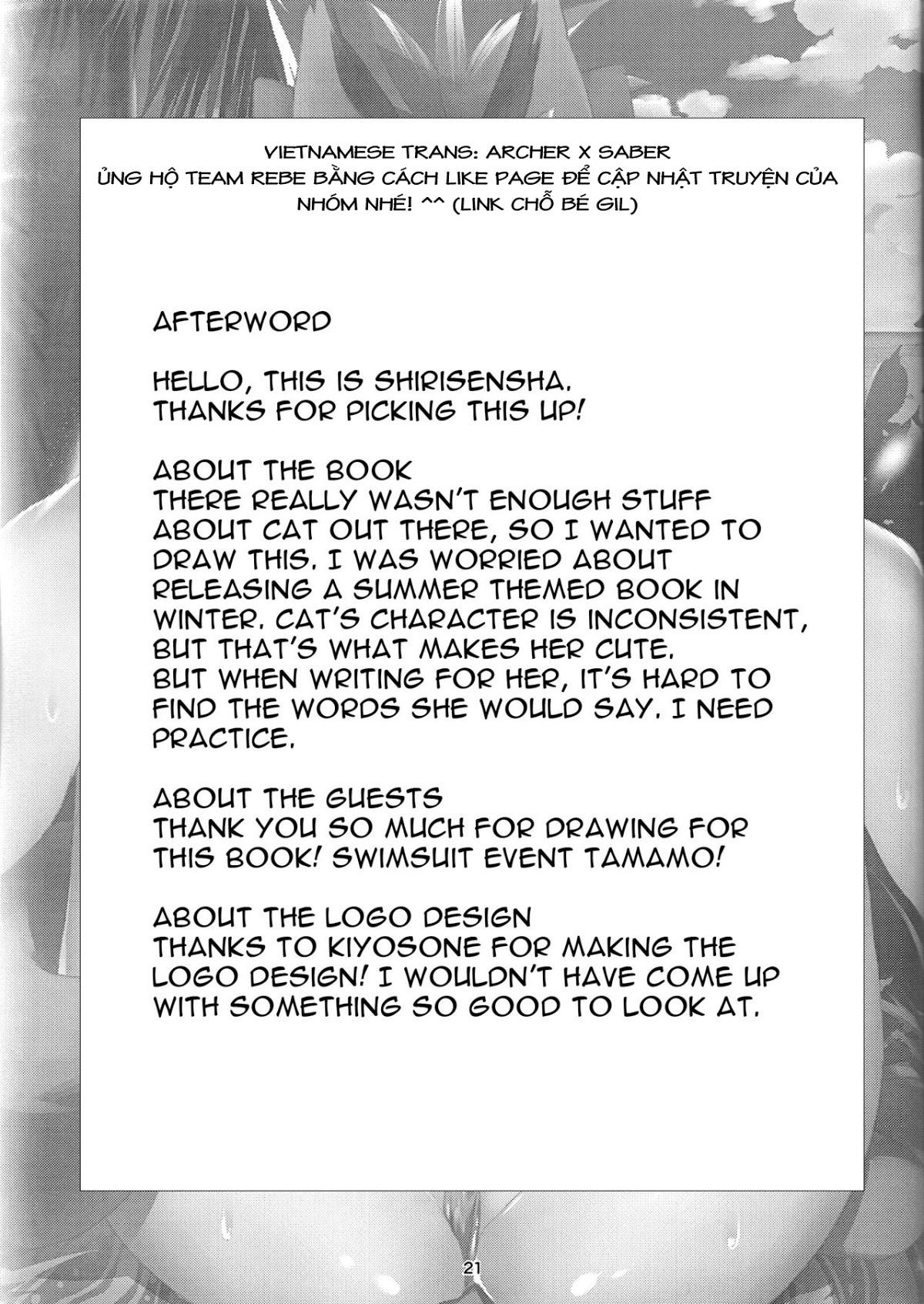 Hình ảnh 385028795399621 page21 in Manatsu no Dosukebe Mesu Cat