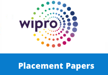 Wipro previous placement papers