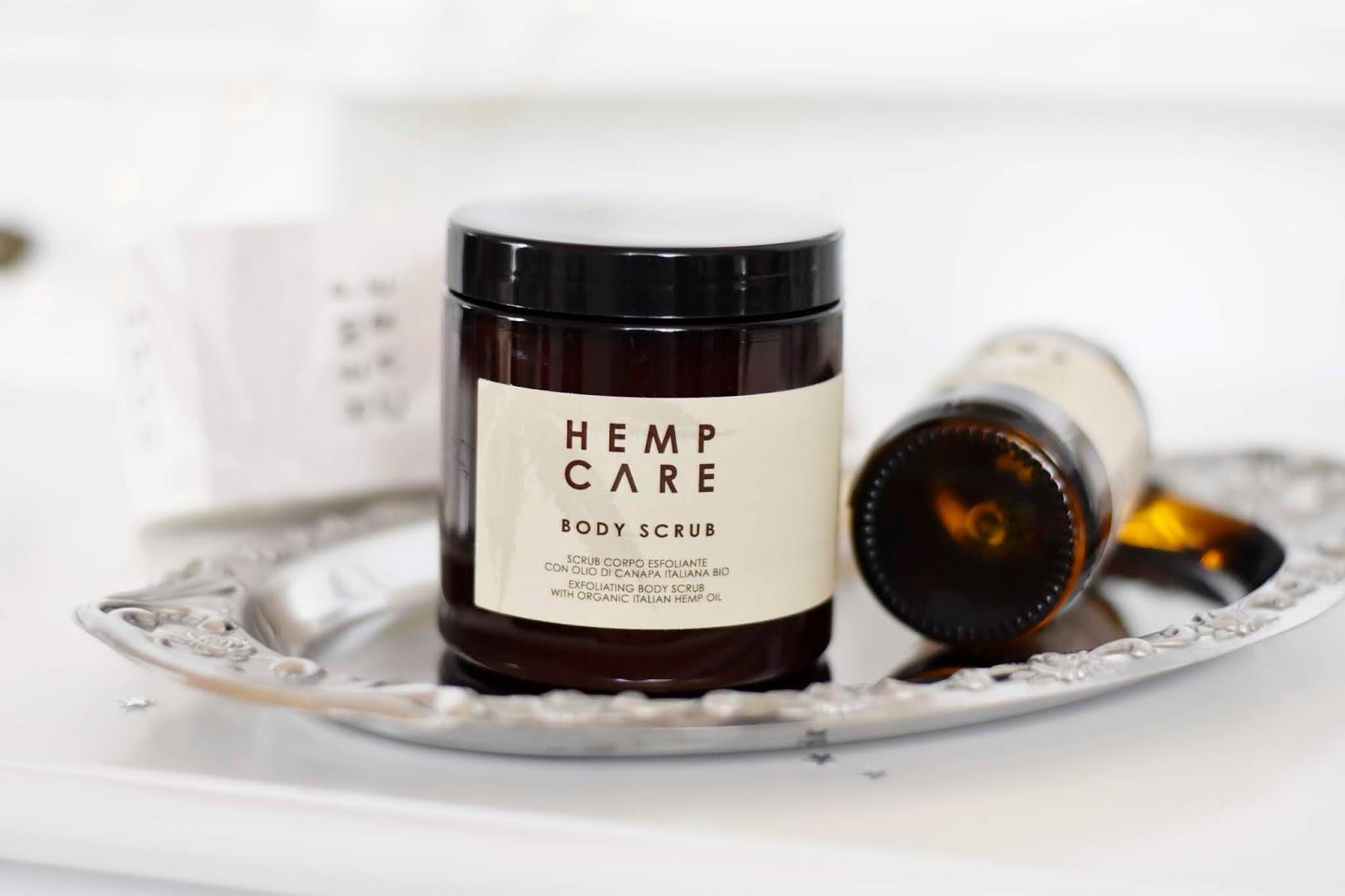 hemp care peeling do ciała