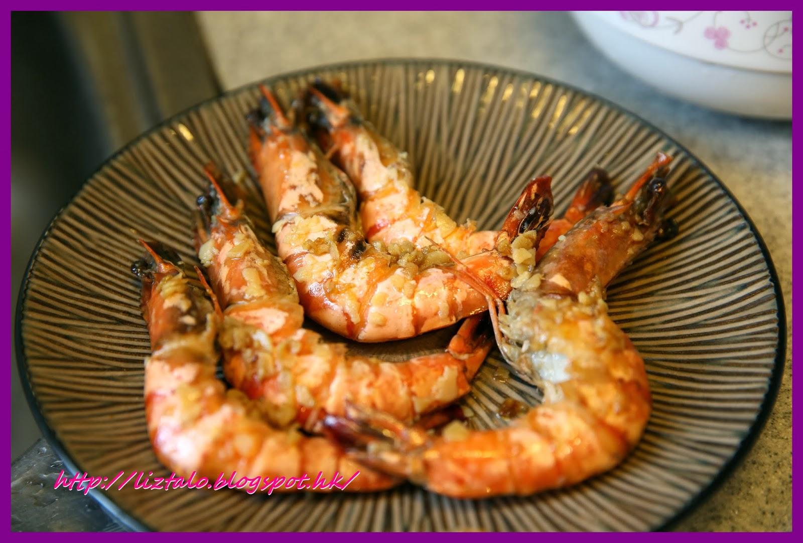 【簡約煮意】: 虎蝦黑松露忌廉韓國年糕
