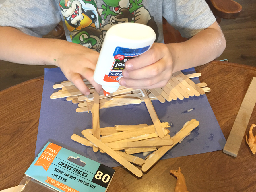 homeschooling, learning, arts and crafts, noah's ark, bible crafts
