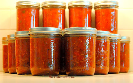 Garden to Table Canned Salsa