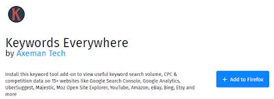 cara mudah menggunakan keyword everywhere