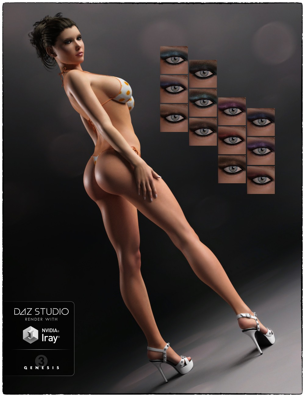 See And Save As Victoria Playing With Micheal In Daz Studio Porn Pict
