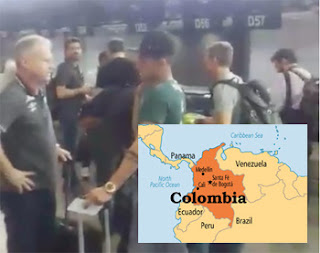 Plane crashes killing Brazilian Football team and 75 others -- In Facebook before mishap (video)