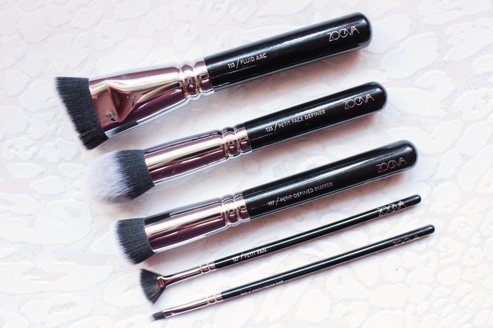 Five NEW Zoeva Brushes