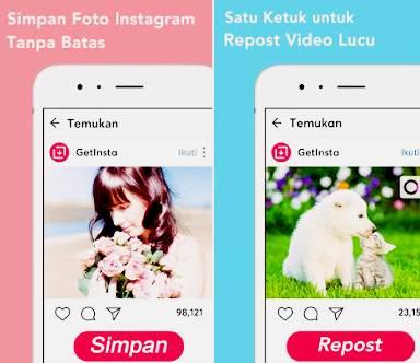 Aplikasi Repost Instagram Android