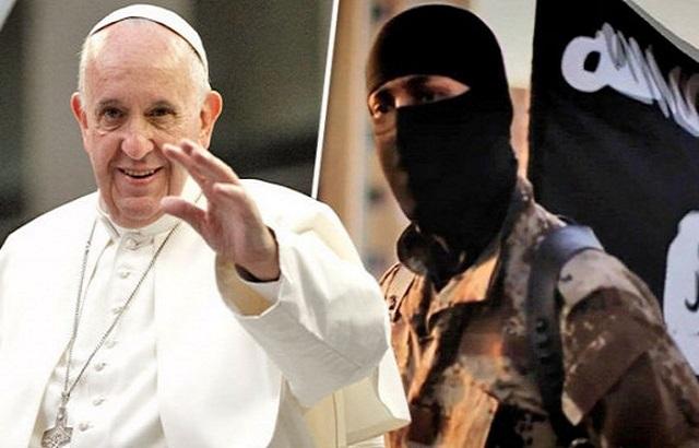 Khủng bố Hồi Giáo IS doạ giết Đức Phanxicô