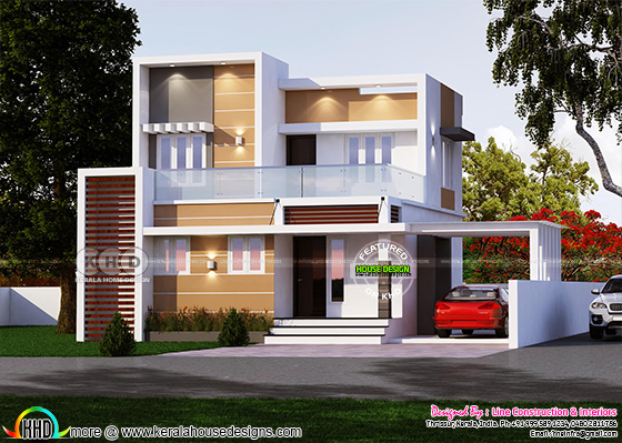 1269 square feet 4 bedroom modern contemporary home