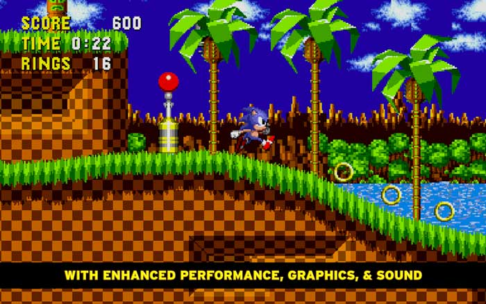 Primer juego de Sonic Hedgehog