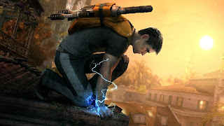 Infamous 2 PS3 Background