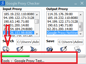 Proxy Google Passed 2016