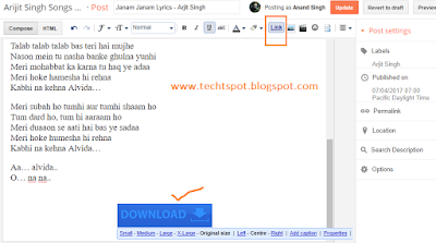 How To Create Image Link In Blogger 3