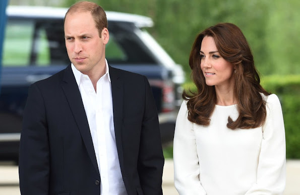Prince William, Duke of Cambridge and Catherine, Duchess of Cambridge attend the launch of Heads Together Campaign