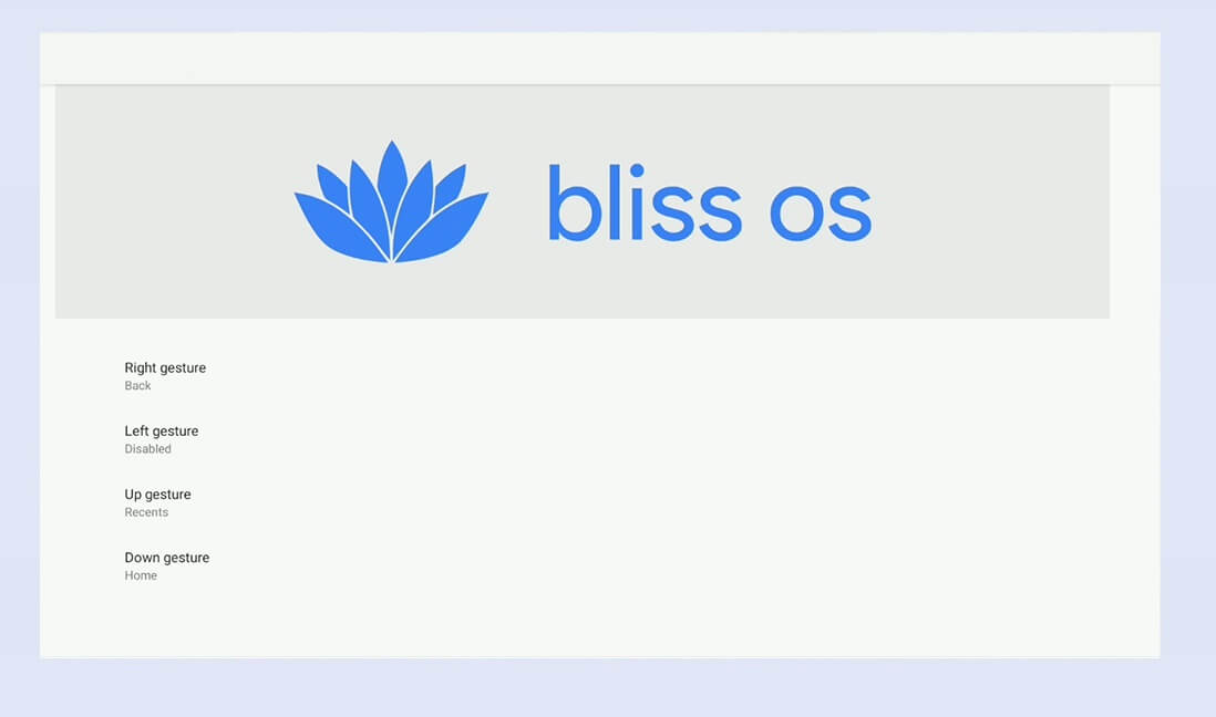 BlissOS Android