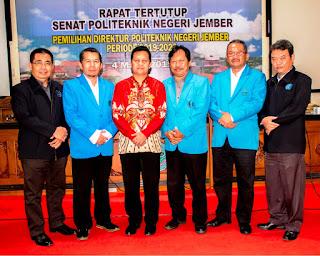 Saiful Anwar Raih Suara Terbanyak  Dalam Rapat Senat Pemilihan Direktur Polije