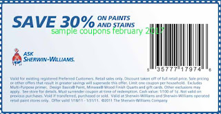Sherwin Williams coupons for february 2017