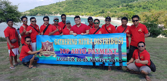 Gathering Mitra Distribusi Top Auto Payment Lombok 22 - 25 Maret 2018