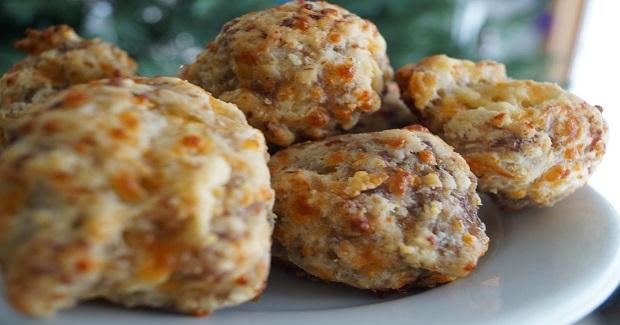 Sausage Cheese Balls (With Gluten Free Option) Recipe