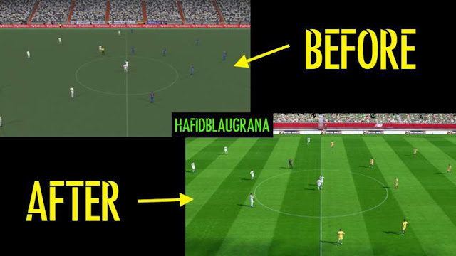 PES 2017 Fix Turf For PTE Patch 2017 Stadium Pack 1.0