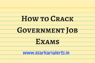 How to Crack Government Job Exams