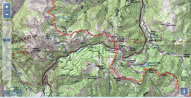Continental Divide Trail Maps and Data